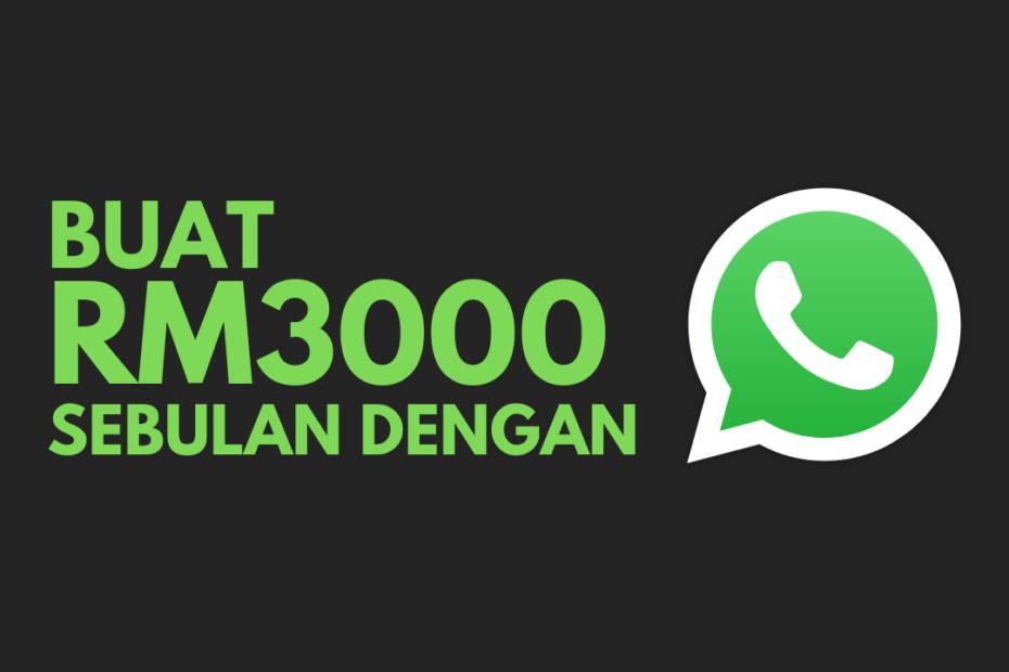 jana pendapatan dengan whatsapp